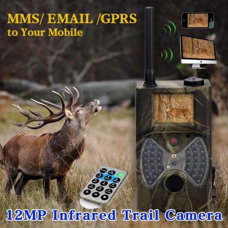 GSM security camera 12MP 1080P 940nm Outdoor hidden Trail Camera Wild surveillance night vision hunting camera