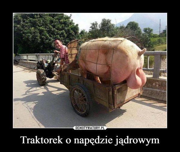 Traktorek o napędzie jądrowym –