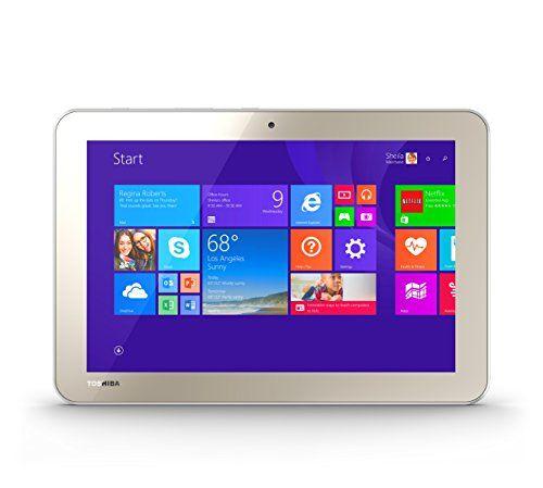 Toshiba Encore 2 WT10-A32 10.0-Inch 32 GB Tablet, Gold To... https://www.amazon.com/dp/B00KO6GJ7S/ref=cm_sw_r_pi_dp_x_xxP6xbNZPZ1VP