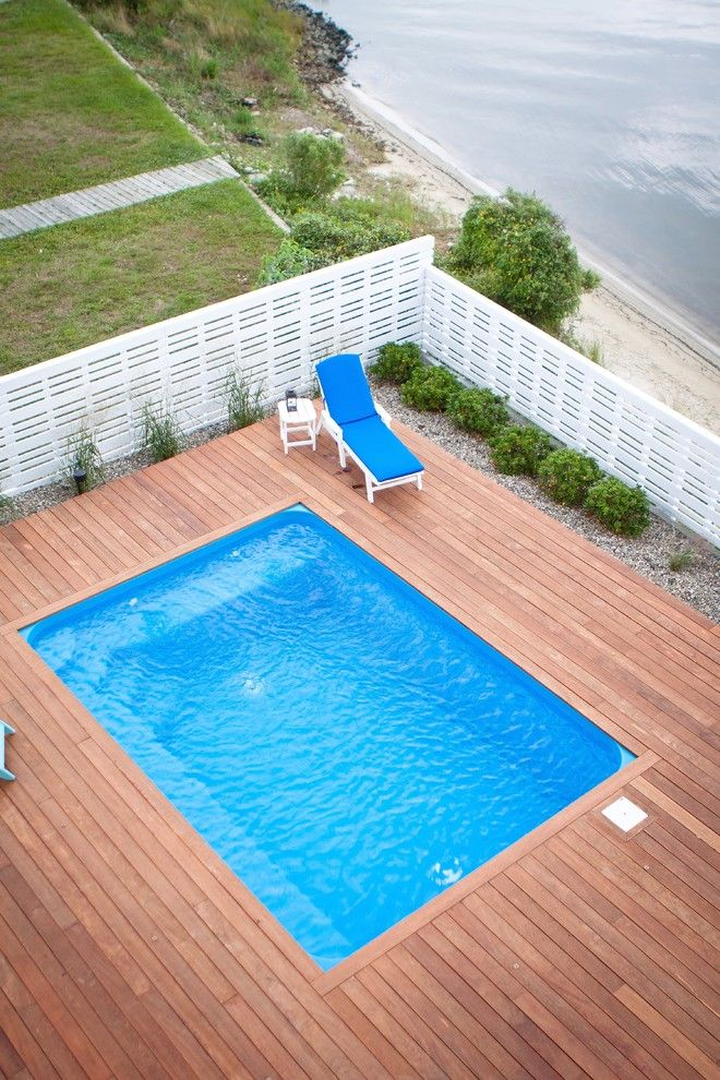 Here's a look at some aboveground pool designs that are ...