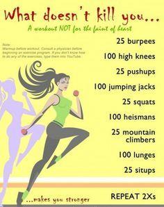 Good home workout