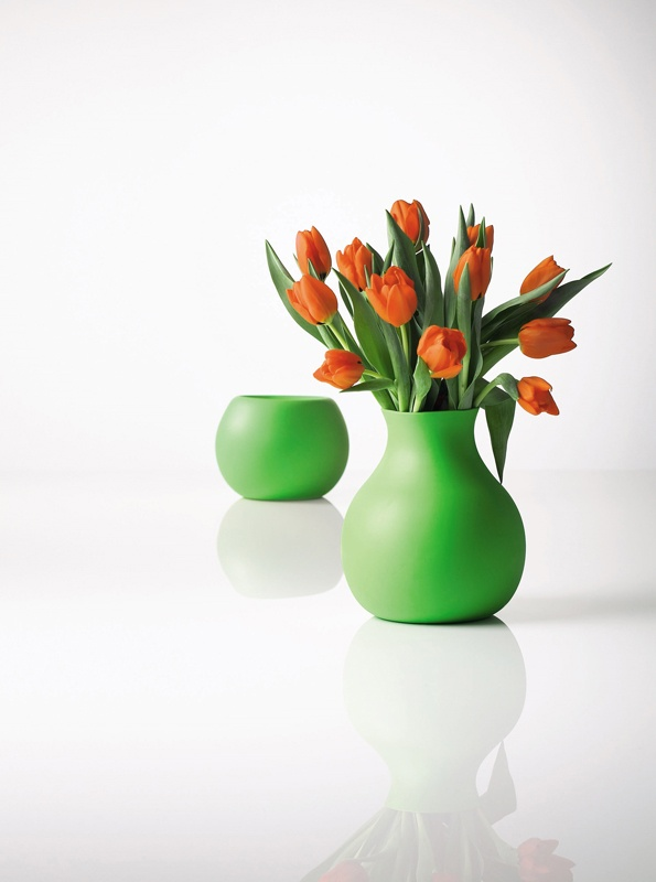 Rubber Vase by Menu #coloroftheyear #green
