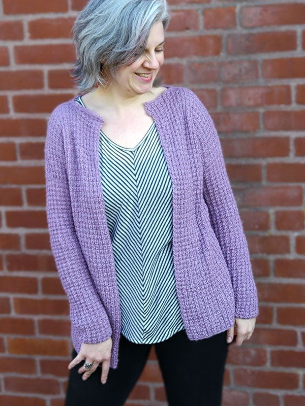 Easy Cardigan Knitting Pattern : 334 best images about knit cardigan patterns on Pinterest