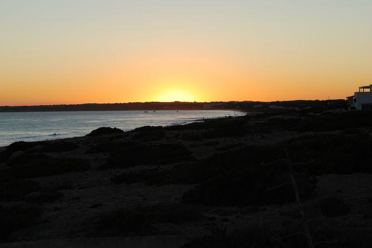 The magic sunsets at 10punto7 Formentera