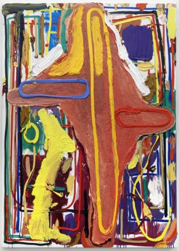 Abstract Art Thoughts: André Butzer - The personalilty changes over time