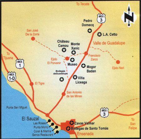 Wine Route - Ruta del Vino