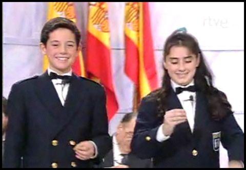 Javier Pereira dio el Gordo en el Sorteo de Navidad de 1993 y 1994...