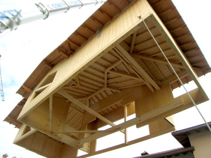 Case in legno - Sopralzo