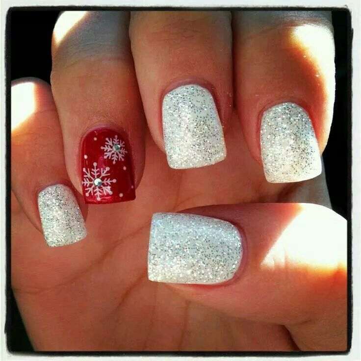 Ring finger snowflakes