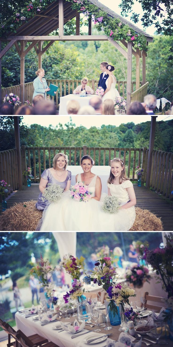 A Cornish Country Wedding. | http://www.rockmywedding.co.uk/a-cornish-country-wedding/