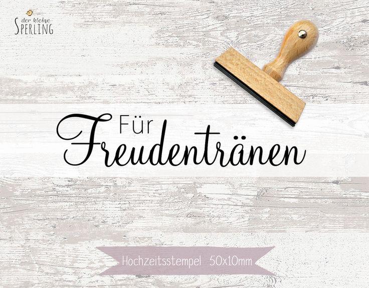 Stempel+Freudentränen+von+Der+kleine+Sperling+-+Stempel+auf+DaWanda.com