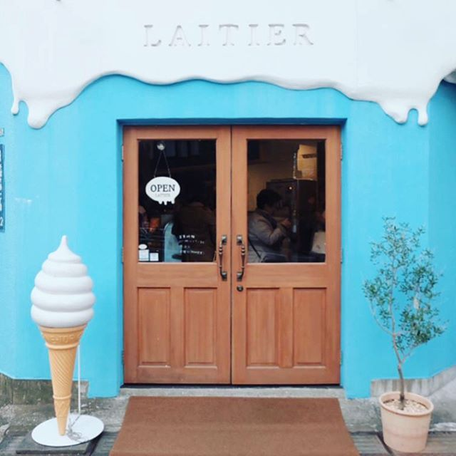 "33 Likes, 2 Comments - J P N Cafe 🇯🇵 (@jpn.cafe) on Instagram: ""Laitier, Sendagaya"""