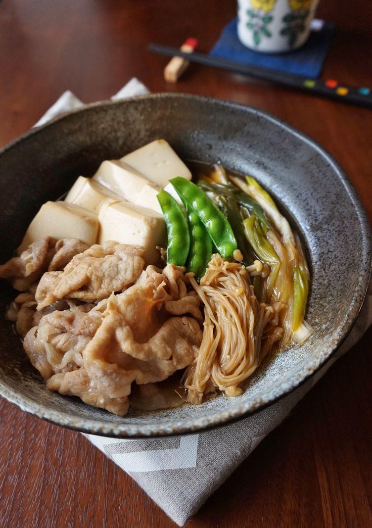 豚ロース肉でさっぱり!肉豆腐 by 楠みどり | レシピサイト「Nadia | ナディア」プロの料理を無料で検索