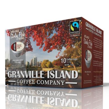 Granville Island Coffee Stanley Park. Dark/Medium Roast. Our Stanley Park blend of Fairtrade Central American bean is of medium/dark roast for the finest combination of sweet fruity notes, balanced with body and aroma.