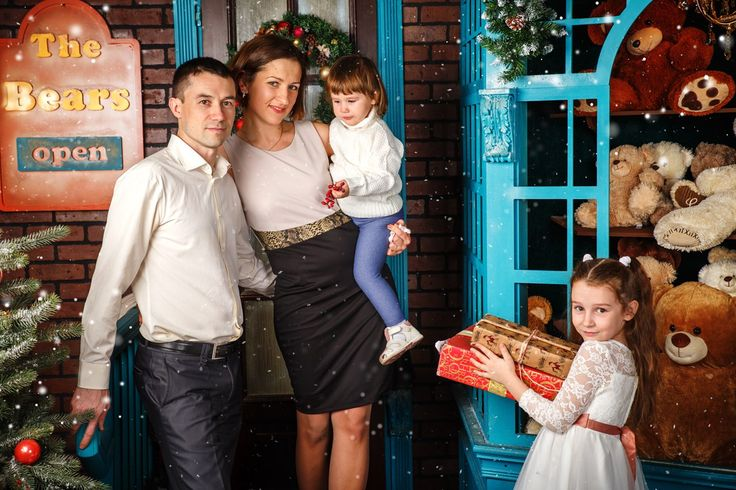 Christmass family photoshoot новогодняя семейная фотосессия фотограф Татьяна Полякова Санкт Петербург