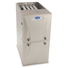 """The most common residential furnace we install is a """"Carrier Infinity 96"""" We have had good success with this furnace through out the years."""