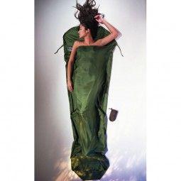 100% silk sleeping bag liner to make my sleeping bag warmer  http://www.bergfuchs.at/cocoon-seidenschlafsack-sm70.html