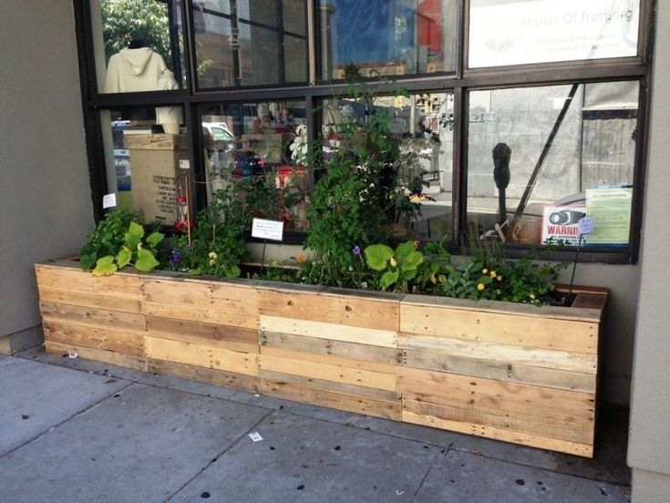 Fence Planter Boxes Diy