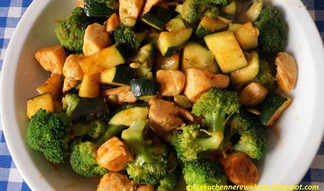 kurczak z brokułem