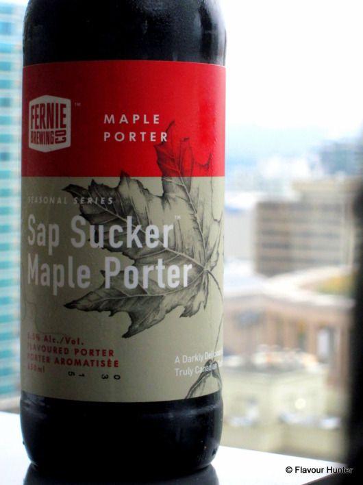 Sap Sucker Maple Porter