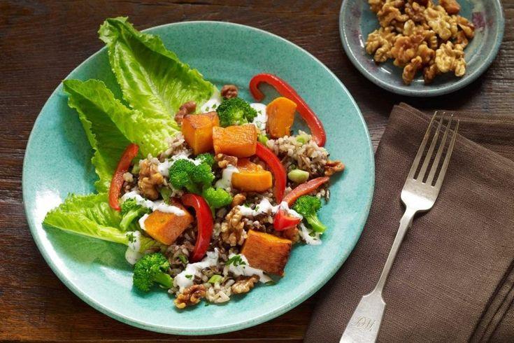 Warm Winter Walnut Salad - California Walnuts