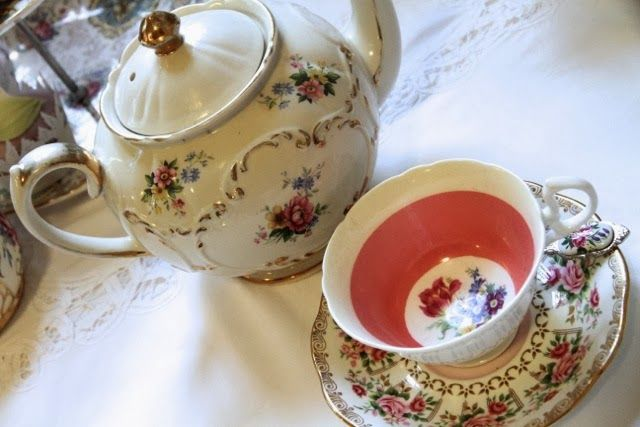 floral china love
