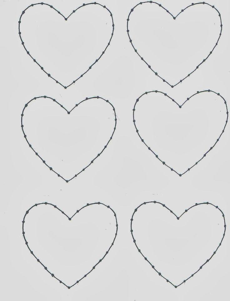 Kathy je AngelNik Designs & Art Project Myšlienky: String umenie Hearts