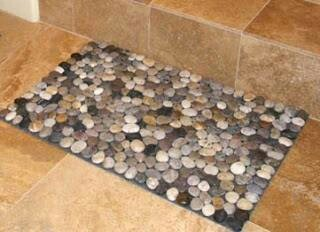 17 best images about petoskey stone crafts on pinterest for River stone mat