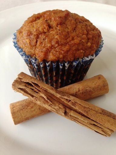 Carrot & Apple Spiced Breakfast Muffins