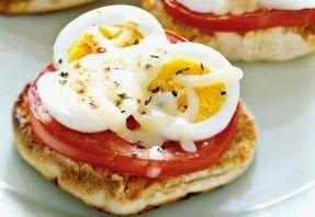 Английские домашние маффины-пиццы ~ Книга рецептов на блогспот