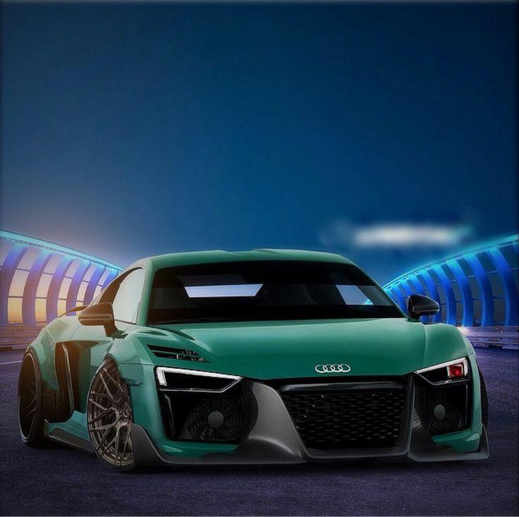 Audi, Audi R8 And Mint