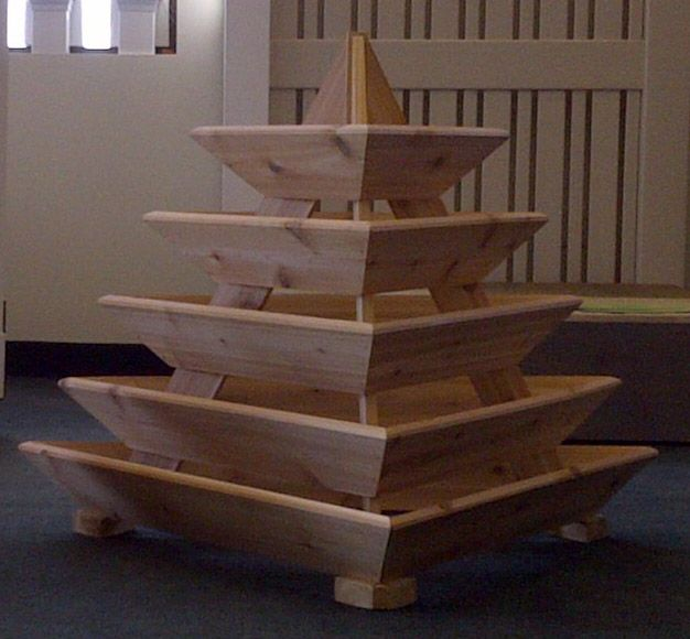 Triolife 5 Level Pyramid Planter My Green Thumb
