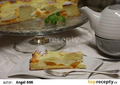 Tvarohový koláč s mandarinkami recept - TopRecepty.cz