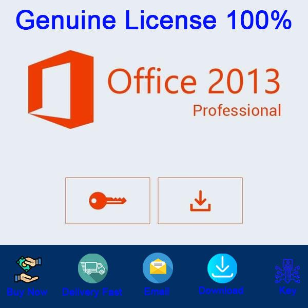 Software 40134 Office 2013 Professional Plus License Key