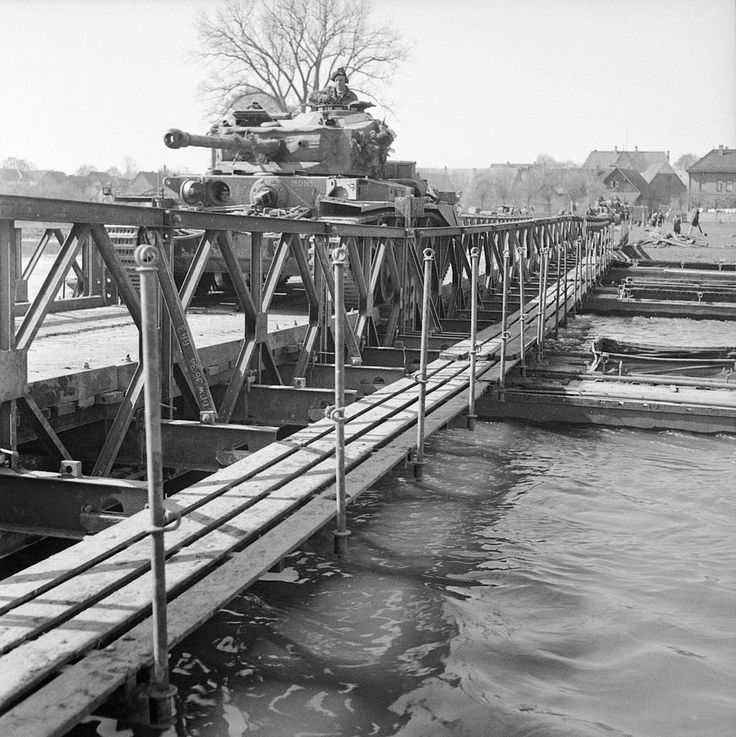 Comet tanks of the 2nd Fife and Forfar Yeomanry, 11th Armoured Division, crossing the Weser at Petershagen, 7 April 1945. BU3198 - Fife and Forfar Yeomanry - Wikipedia, the free encyclopedia