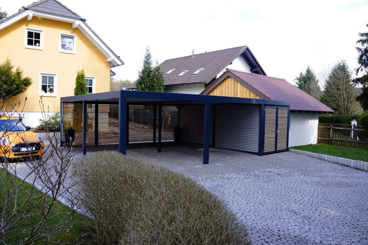 die besten 25 carport mit abstellraum ideen auf pinterest carport mit schuppen stahl. Black Bedroom Furniture Sets. Home Design Ideas