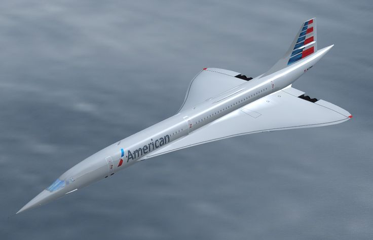 Concorde New American Airlines Livery My Hobby