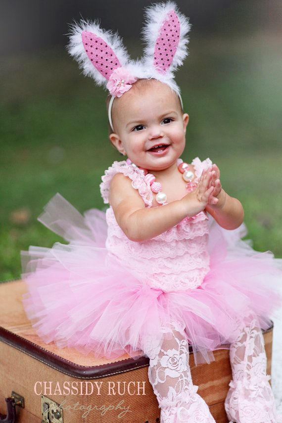 "Bunny Halloween Costume - ""Tutu Cute"" Bunny Costume - Girl Toddler Baby Infant Newborn Halloween Costume on Etsy, $56.00"