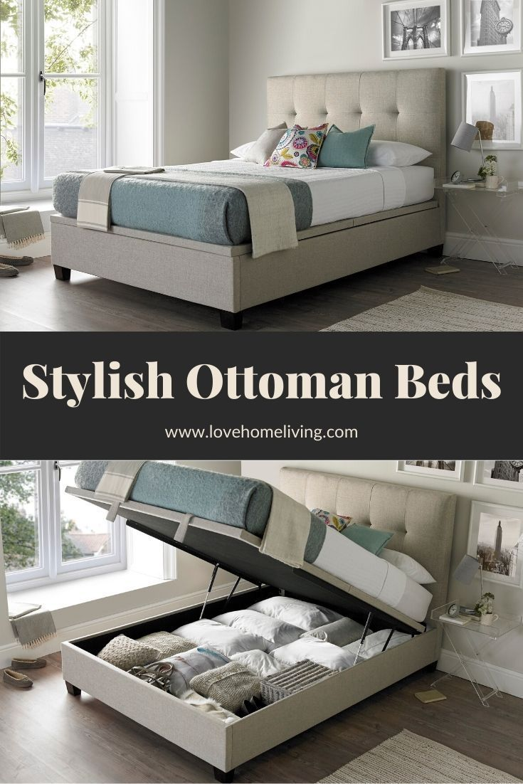 Our Contemporary And Modern Ottoman Fabric Storage Beds Offer