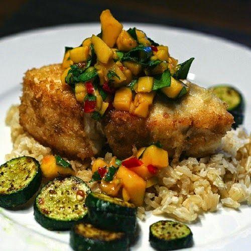 Copycat Restaurant Recipes: Bonefish Grill Warm Mango Salsa Recipe