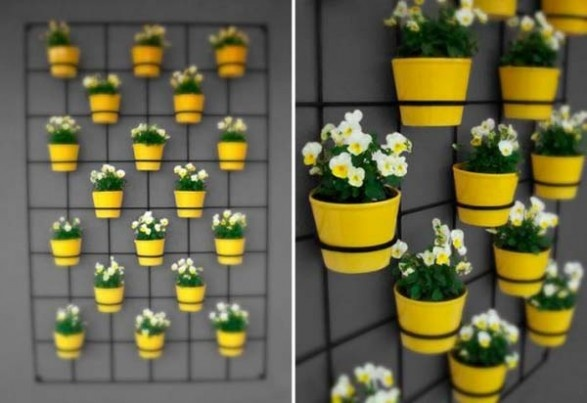 vertical wall garden - insitu wall planters see more vertical gardens at http://www.greendesign.com.au/vertical_gardens.htm