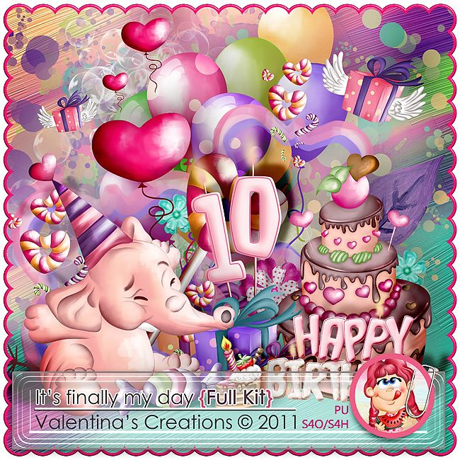 It's finally my day {Kit} by Valentina's Creations