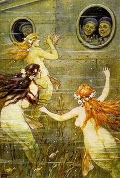 Die besten 17 Ideen zu Meerjungfrau Brautparties auf Pinterest  Meer ...