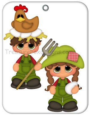 Little Gems (Farms) - Treasure Box Designs Patterns & Cutting Files (SVG,WPC,GSD,DXF,AI,JPEG)