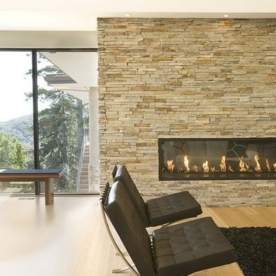 stacked stone interior wall design pictures remodel decor and ideas page 7