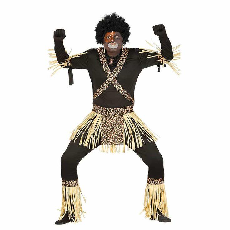 Comprar Disfraz adulto Zulu Africano.,