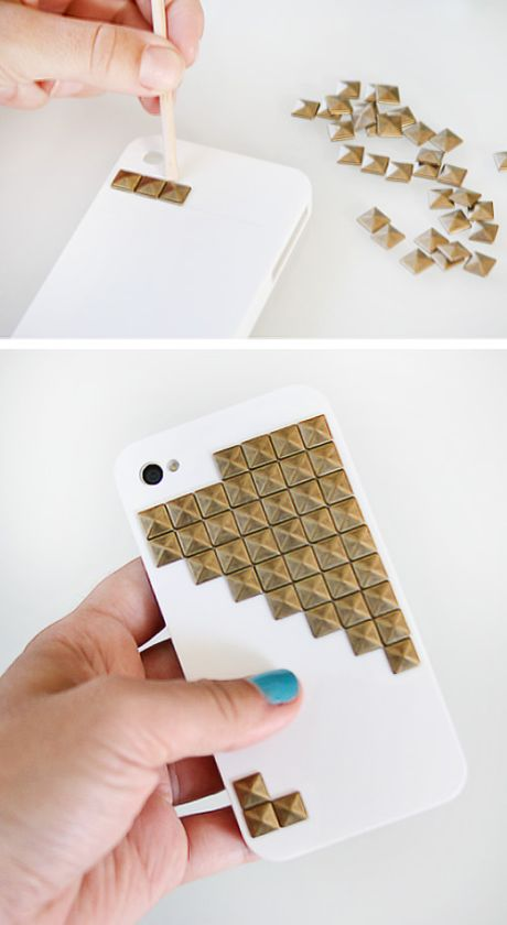 135 best do it yourself images on pinterest creative build studded iphone case diy diy tech do it yourself upcycle recycle how to craft crafts instructable solutioingenieria Image collections