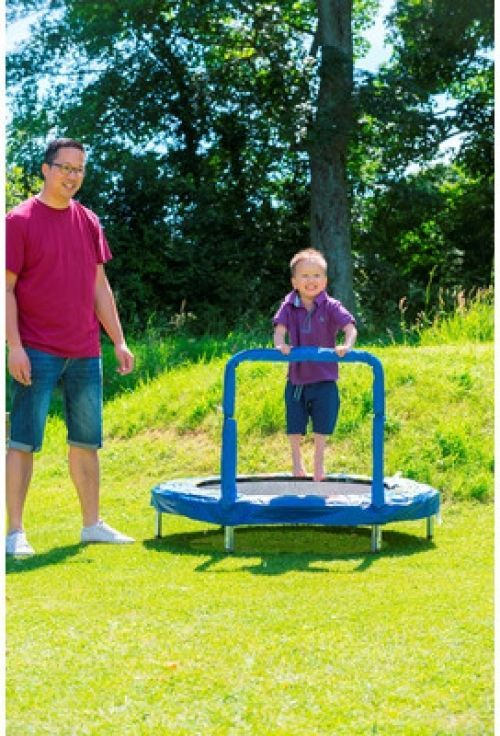 Small Trampoline Robot Theme Kids Handle Bar Safety Garden Play Summer Exercise http://www.ebay.co.uk/itm/Small-Trampoline-Robot-Theme-Kids-Handle-Bar-Safety-Garden-Play-Summer-Exercise-/291846653561?hash=item43f36a8679:g:sagAAOSw-itXsa3P