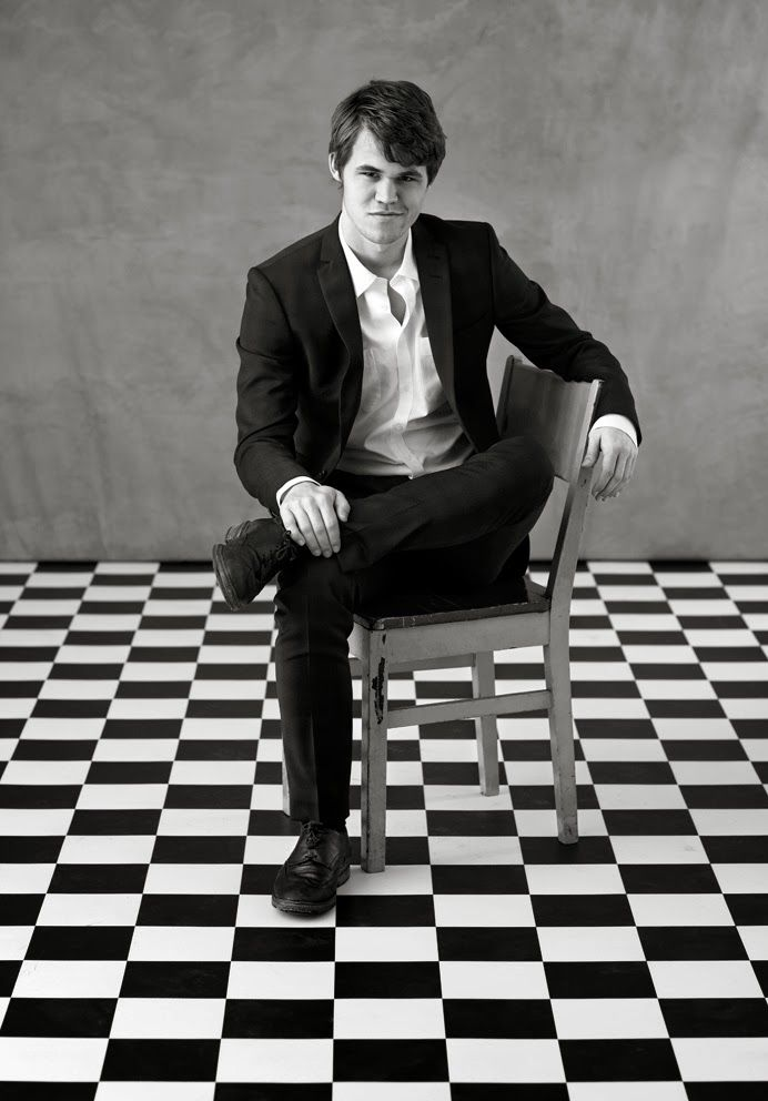 MAGNUS CARLSEN, CURRENT WORLD CHESS CHAMPION