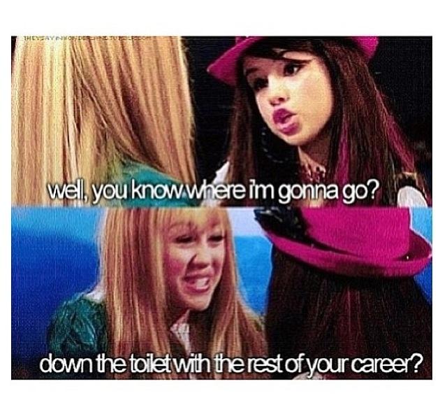 Selena Gomez on Hannah Montana. I like Selena more than Miley im a HUGE selena gomez fan I her #1 fan